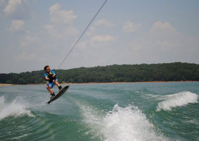 High adventure on Lake Lanier for watersports of all types