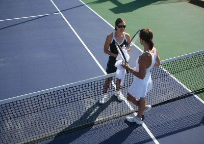 Atlanta Lawn Tennis Association (ALTA) league play or pick-up matches at our 3-court tennis complex